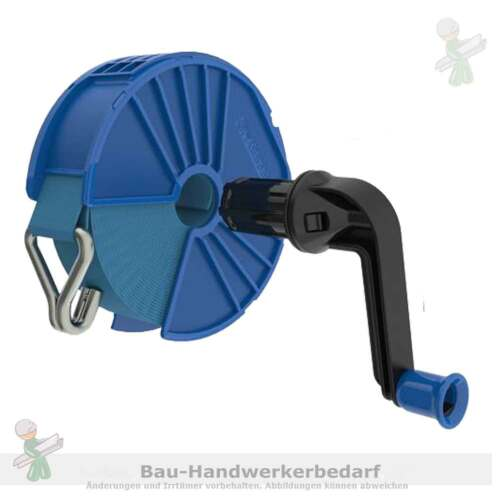 """für 50 mm Gurte mit Kurbel Gurtaufroller /""""EESSY/""""  195-50.mH kpl ohne Gurt"""