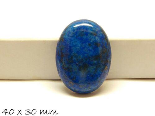 lapis lazuli Edelstein cabochon para pegado en versiones 40 x 30 mm 1 unid braguitas