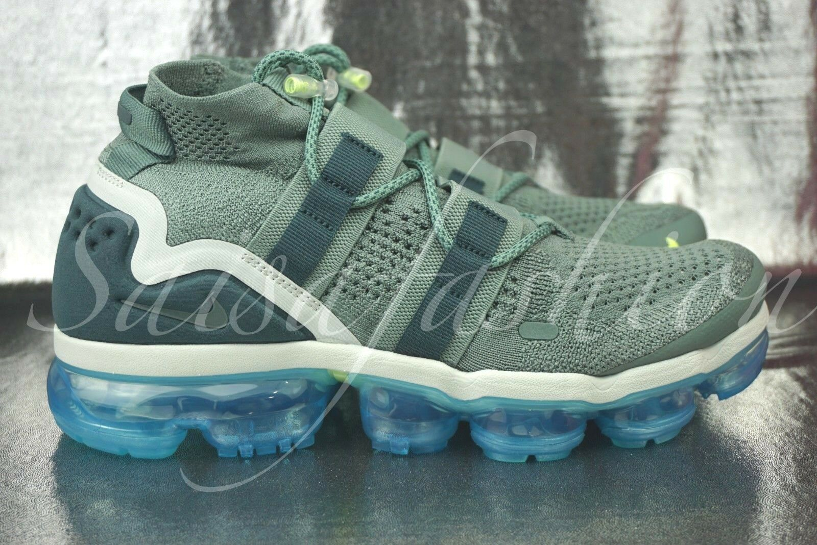 b6369c5e6c774 Nike Air Vapormax FK Flyknit Utility 8.5 Clay Green Faded Spruce ...