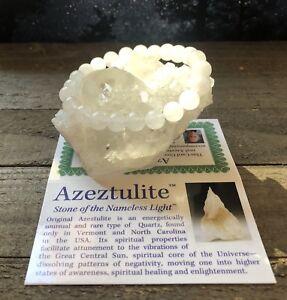 BEAUTIFUL-AZEZTULITE-NATURAL-HIGH-VIBRATION-CRYSTAL-BRACELET