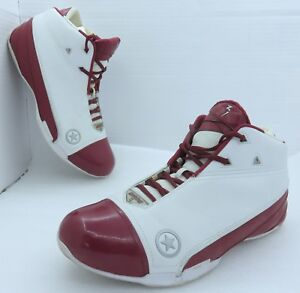 95c021d50f4e Used Converse Dwayne Wade 1.3 Mid Red White PE - Size 14 ...