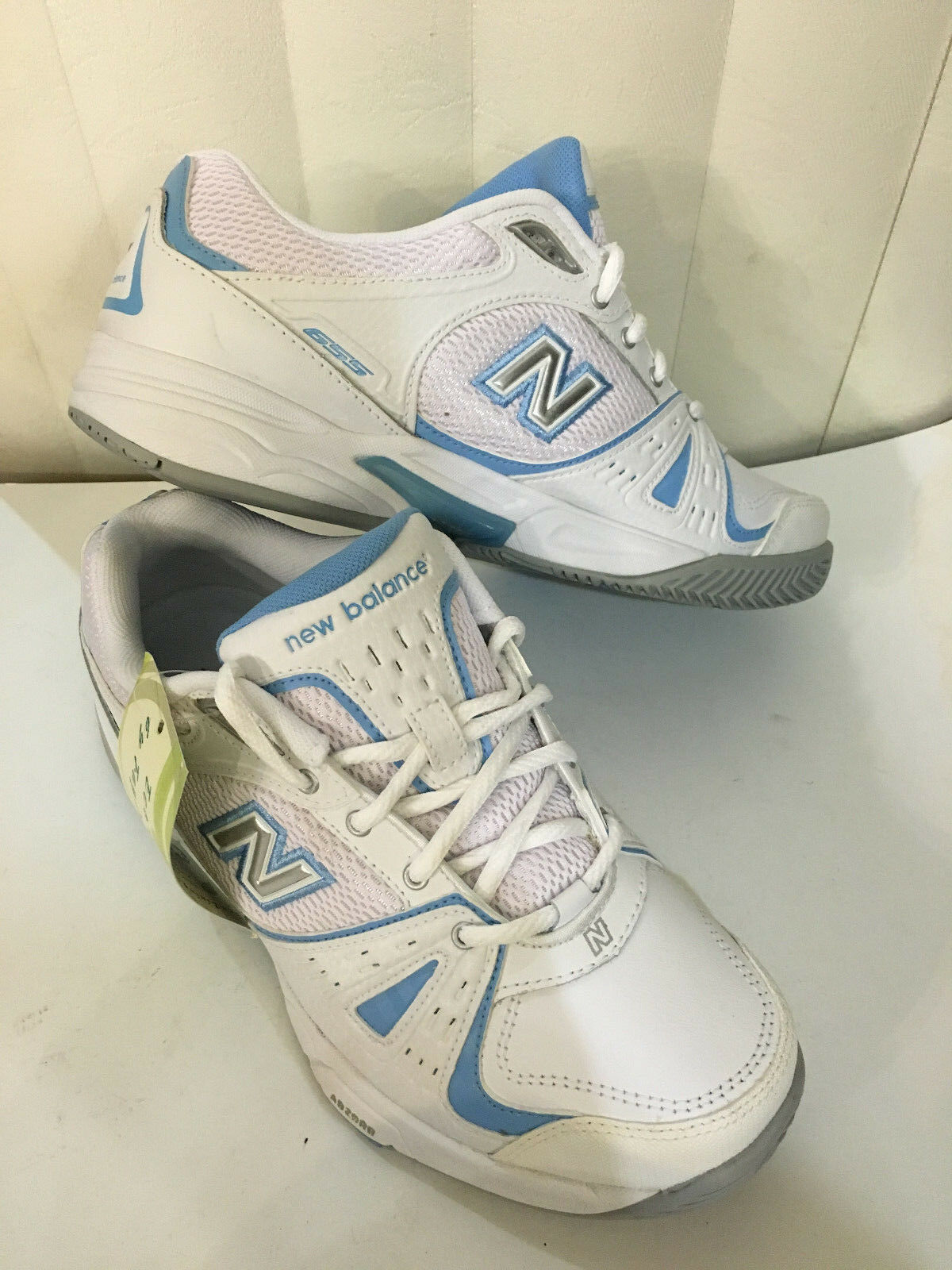New Balance WC655WT  Women's White bluee Running shoes Size 6-9 D (Wide)