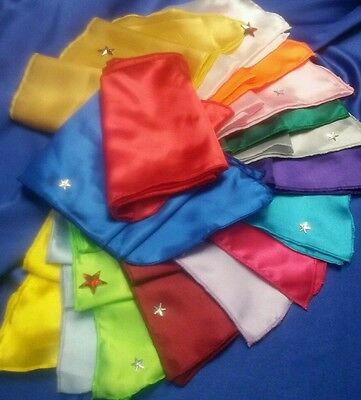 42  Elvis ETA/'s satin Jumpsuit scarves17 colors scarf IN STOCK  Ready to ship