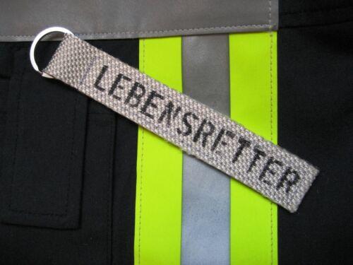 Schlüsselanhänger aus Feuerwehrschlauch Geschenk für den Feuerwehrmann