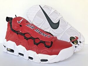 reputable site 01457 a40e1 Image is loading NIKE-SAMPLE-AIR-MONEY-UPTEMPO-Gym-Red-Black-