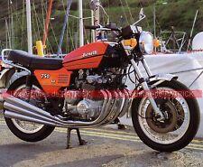 BENELLI 750 Sei 1972 Fiche Moto 000032