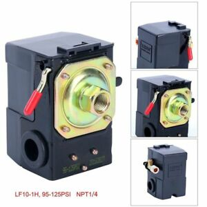 Air-Compressor-Pressure-Switch-95-125-PSI-LEFOO-Pressure-Control-US-Free-Ship
