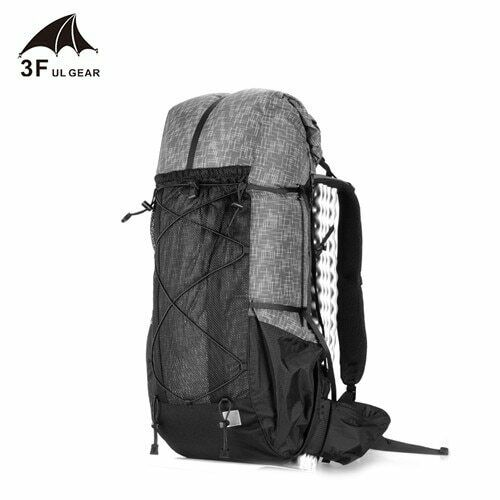 3F UL GEAR Water-resistant Hiking Backpack Lightweight Camping Pack Travel Mount