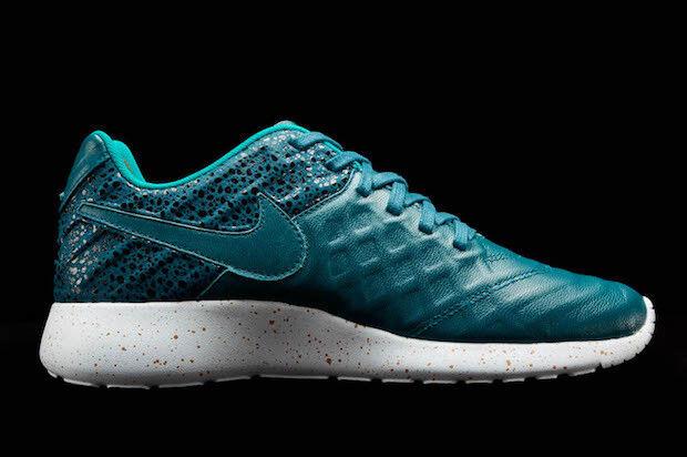 Nike Roshe Tiempo VI FC 861459-300 Midnight Turq Size 13 13 Size  130 6ad512
