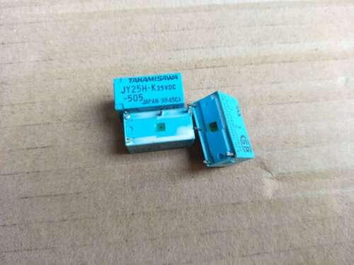 JY-25H-K JY25H-K-505 25VDC Miniature PCB Relay 5A 250VAC 4 Pins x 10pcs