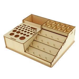 Almacenamiento-de-botellas-de-pintura-de-madera-del-sostenedor-del-estante-almacenamiento