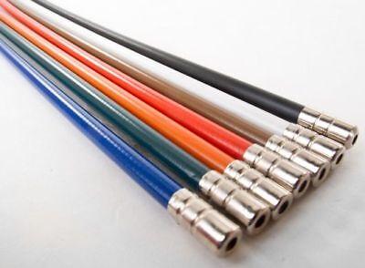 Devoto Velo Cavo Freno Color Arancione Set- Vincere Elogi Calorosi Dai Clienti
