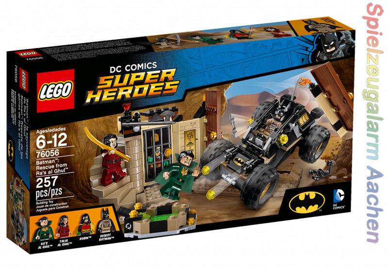 LEGO 76056 DC COMICS Super Heroes Batman Ra's al Ghuls Rache Talia al Ghul Robin