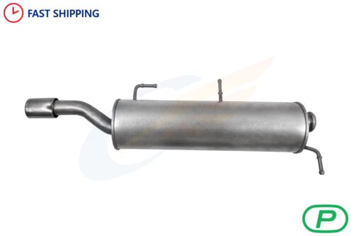 PEUGEOT 307 CC 2.0 16V Cabriolet back box 2003-2005 Exhaust Rear Silencer