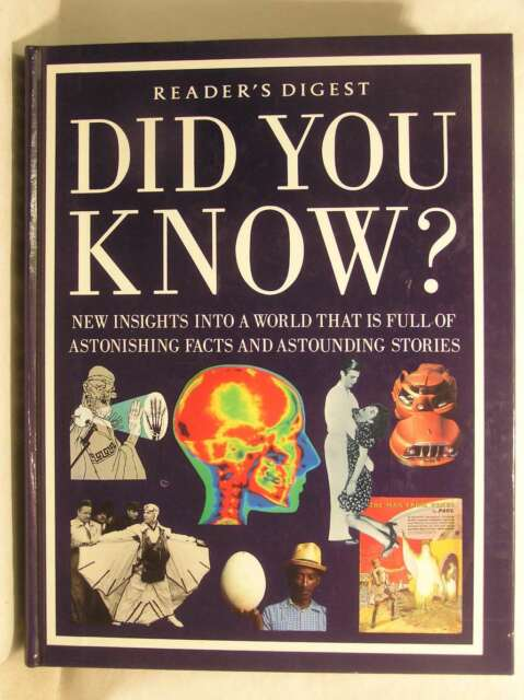 Did You Know?, Reader's Digest, Excellent Book