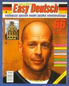 BRUCE WILLIS great polish mag.FRONT cover No.66, issue 2000 MUNSTER - europe, Polska - Zwroty są przyjmowane - europe, Polska
