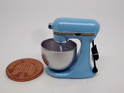 Dollhouse Miniature Non-Working Metal Drink Blender 1:12 Doll House Miniatures