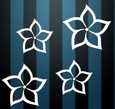 Auto Aufkleber Hibiskus Blumen Schmetterlinge HAWAII WANDTATTOO 4 s Wandsticker