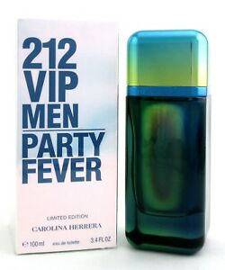 e497b2dd4b 212 VIP Party Fever by Carolina Herrera EDT Spray 3.4 oz.for Men ...