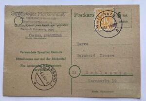 Postkarte-Wolfsburg-mit-provisorischem-Stempel-n-Schleswig-Mai-1946