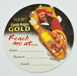 Captain-Morgan-Gold-USA-Bierdeckel-Untersetzer-Coaster