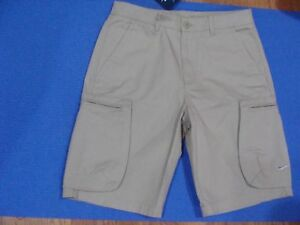 0cc413f00d Men's Nike Woven Khaki Cargo Casual Shorts 613644 235 Size 28~38   eBay
