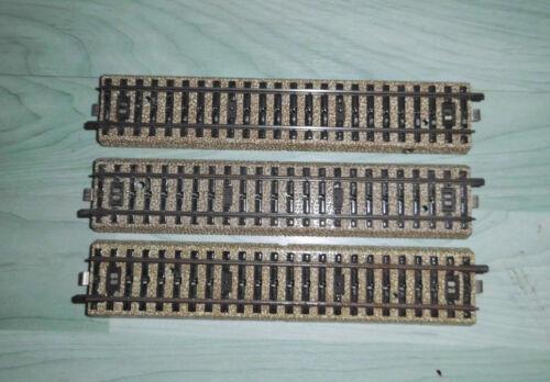 S53 3 Stück M-Gleise gerade von Märklin 5106 in Größe HO // E