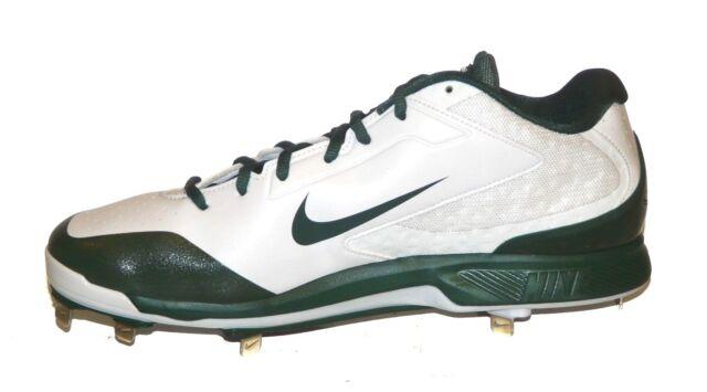 size 40 c3031 70964 NEW Nike Air Huarache Pro Low Metal Baseball Cleats Size 13 Green White  654854