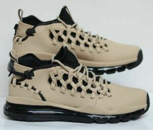 Details about Nike Air Max TR17 Trainer Linen Tan Black Leather 880996 200 Mens Size 15
