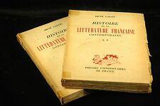 Histoire de la littérature française contemporaine, 1870 à nos jours, par René L