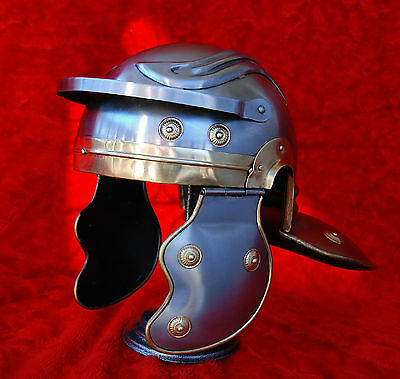Full Sized Reenactors Gallic Roman Legionaries Trooper Steel Armor Helmet