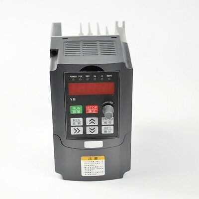 HIGH PRECISION VARIABLE FREQUENCY DRIVE INVERTER VFD 0.75KW 220V 1HP 5A