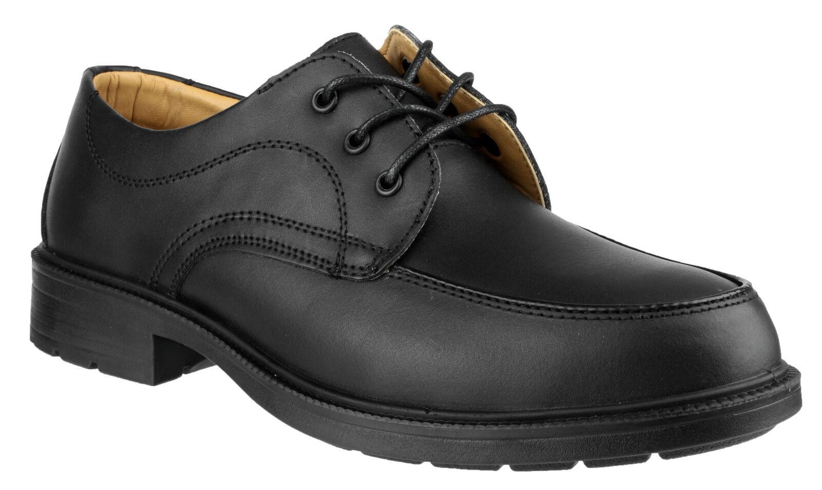 Amblers fs65 Puntera de acero seguridad zapatos hombre GIBSON INDUSTRIAL oficina