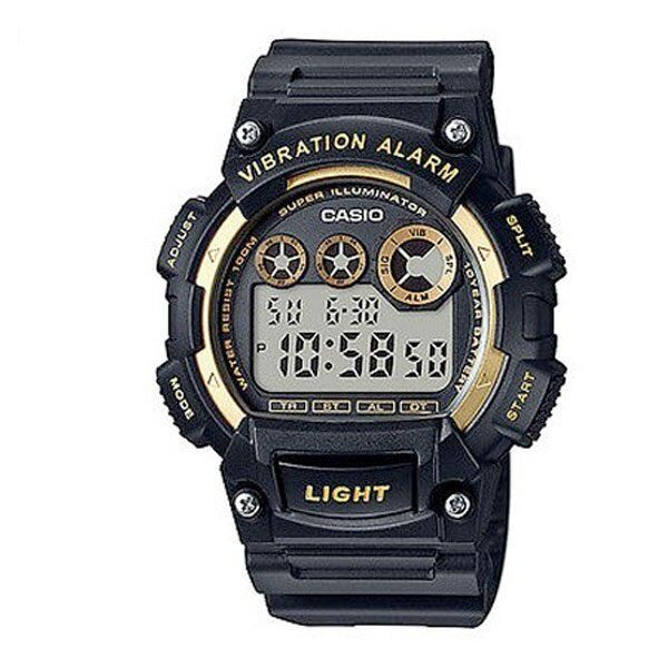 W-735H-1A2 Black Men's Casio sport Watches Resin Bands