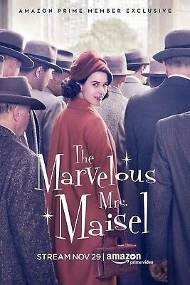 The Marvelous Mrs. Maisel 2017  A4 Movie Poster 2235