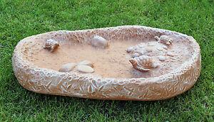 bain d\'oiseaux Pierre Bassin d\'eau décoration de jardin fontaine ...
