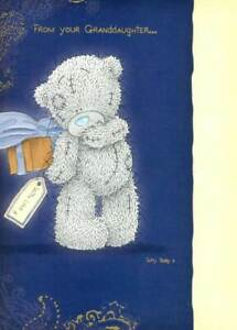 Me To You Bear Father's Day Card From Granddaughter Cute Carte Blanche Cards