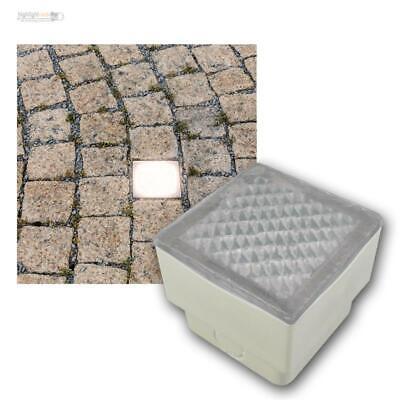 Ausdauernd Led Pflasterstein-leuchte 8x8 Boden-einbauleuchte Pflaster-stein Beleuchtet RegelmäßIges TeegeträNk Verbessert Ihre Gesundheit