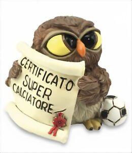 Owls-Les-Alpes-Owl-039-Super-Footballer-039-Resin-014-93143-Owl-Parchment
