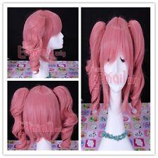 Inu x Boku SS Secret Service Roromiya Karuta 30cm hot pink cosplay Wig CB35
