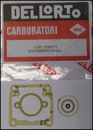 Genuine Dellorto PHBG A /& b gasket set direct from Dell/'Orto UK Guzzi 52526