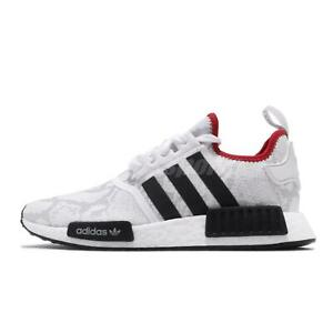 Adidas NMD R1 White Black Red Size 13