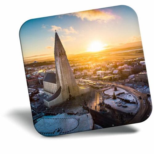 Awesome Fridge Magnet Hallgrimskirkja Church Iceland Cool Gift #2790