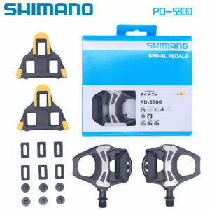 Shimano-105-PD-5800-Carbon-SPD-SL-Road-Bicycle-Bike-Pedals-Clipless-9-16-034