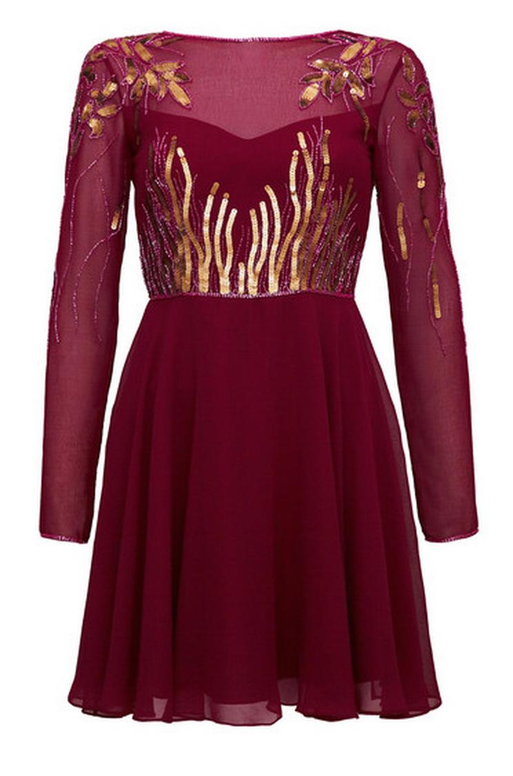 Virgos Lounge Rosa Jasmin Verzierter Mini Brautjungfer Hochzeitskleid 6 - 16 Neu
