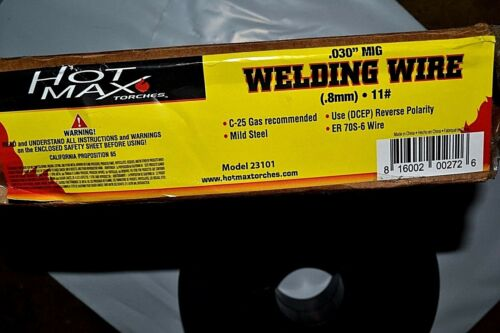 "HTP Quality! 10 lb Roll  ER70S-6 .030/"" Mild Steel MIG Welding Wire"