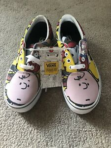 f15939245f VANS Peanuts Era Peanuts Gang Multi Color True White Sneaker ...