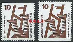 BRD-Bund-1971-Unfallverhuetung-Mi-695-C-D-postfrisch