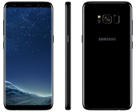 "Deal 18: New Imported Samsung Galaxy S8 Plus Duos 64GB 4GB 6.2"" OctaCore Black"