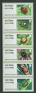 GREAT-BRITAIN-2016-POST-AND-GO-LADYBIRDS-UNMOUNTED-MINT-MNH